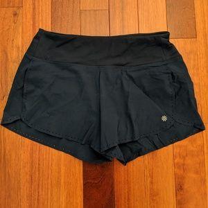 Navy Athleta shorts